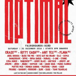 Event : Optimal @ The Goods Diner (Jakarta) - Sat 1 Dec 2018