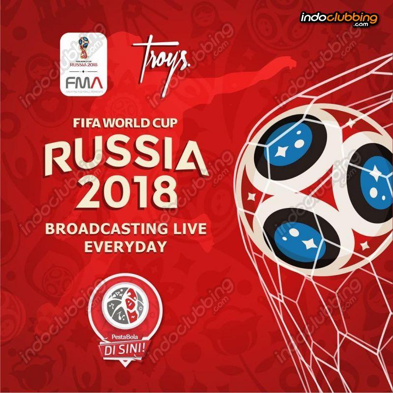 Event Nobar Piala Dunia Sepakbola Rusia 2018 Troy S Bandung