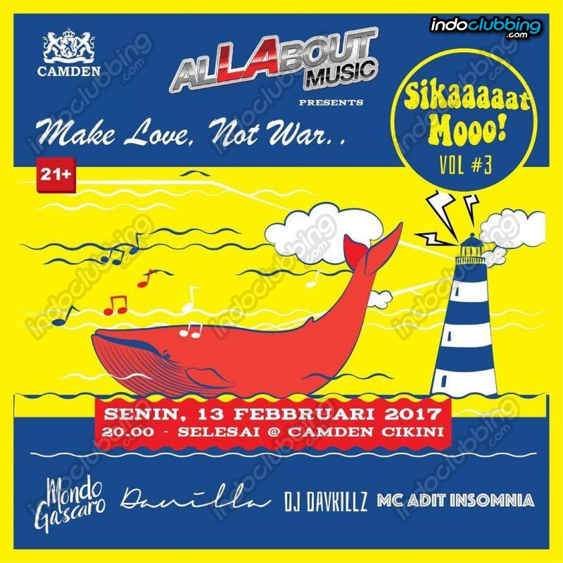 Event Sikaaaaat Mooo Vol3 At Camden Bar Jakarta Mon 13 Feb