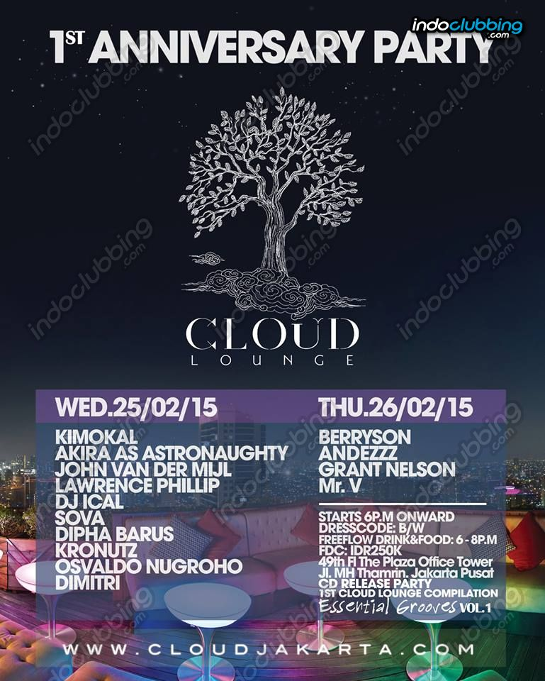 Event st anniversary party cloud jakarta thu