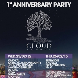 Thu 26 Feb 2015 Cloud Jakarta Pusat
