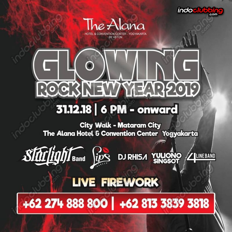 Event New Year Eve 2019 Party Celebration The Alana Jogjakarta Mon 31 Dec 2018 Indoclubbing Com