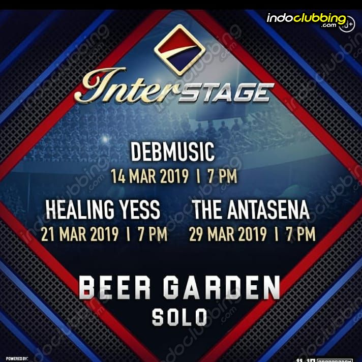 Event Interstage Beer Garden Solo Thu 14 Mar 2019 Indoclubbing Com