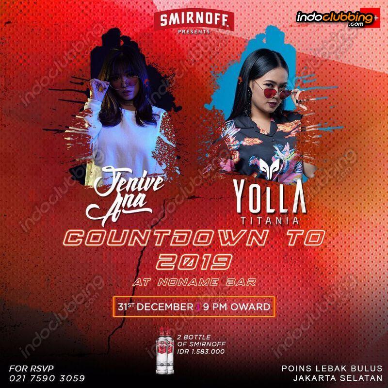 movie 2019 countdown Event Countdown To 2019 No Name Bar Jakarta Mon 31