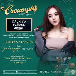 Event : Creampie @ Malio Club (Jakarta) - Fri 5 Apr 2019