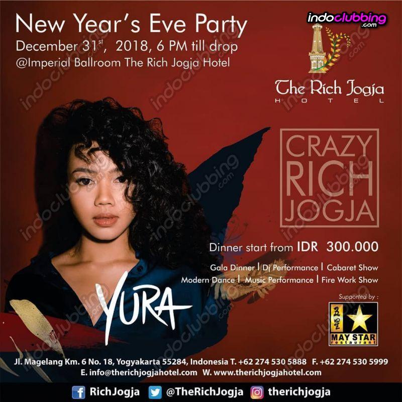 Event New Year S Eve 2019 Party The Rich Jogja Hotel Jogjakarta Mon 31 Dec 2018 Indoclubbing Com