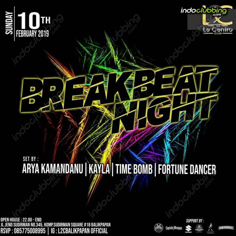 Event Breakbeat Night Le Centro Club Balikpapan Sun 10 Feb