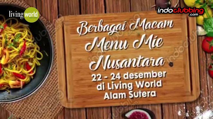 Event Festival Kuliner Rcti Mieneka Nusantara Living