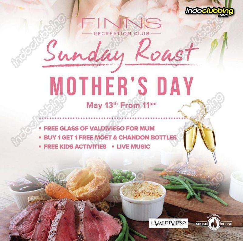 Mothers Day Finns Recreation Club Tecstar Tiket Splash Waterpark Bali Anak Sun 13 May 2018