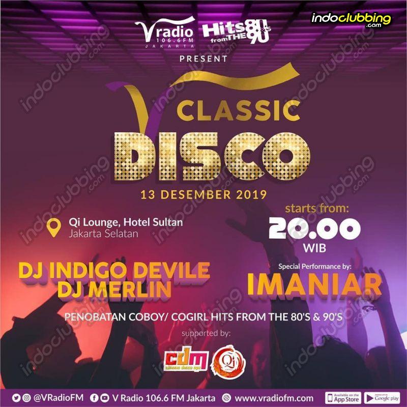 Event Classic Disco Qi Lounge Jakarta Fri 13 Dec 2019