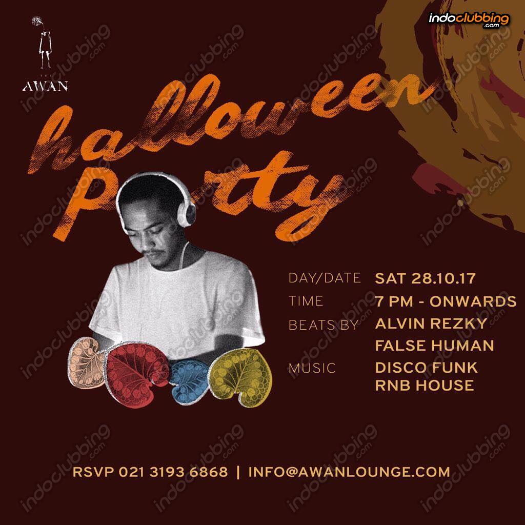 Event : Halloween Party @ Awan Lounge Rooftop Bar (Jakarta) - Sat ...
