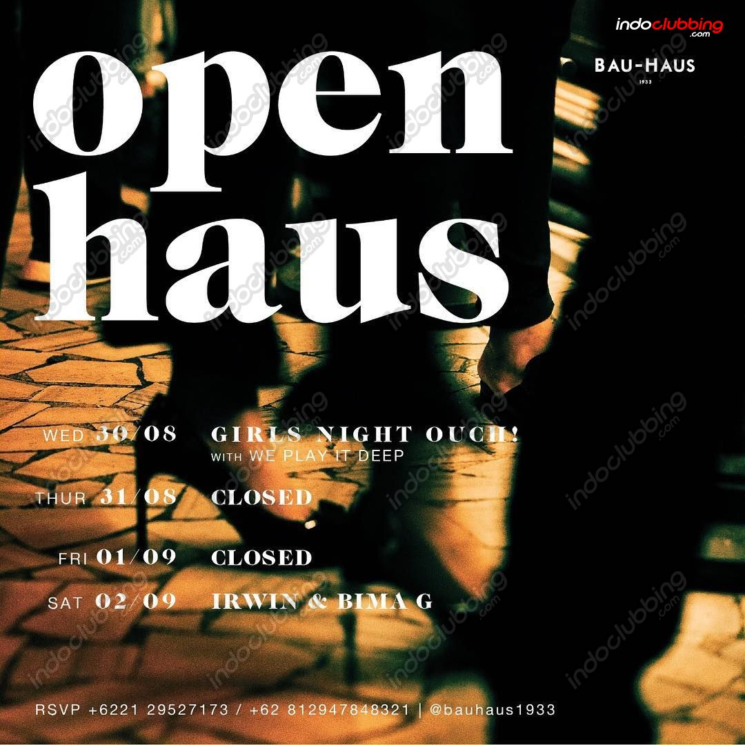 event open haus bau haus jakarta wed 6 sep 2017. Black Bedroom Furniture Sets. Home Design Ideas