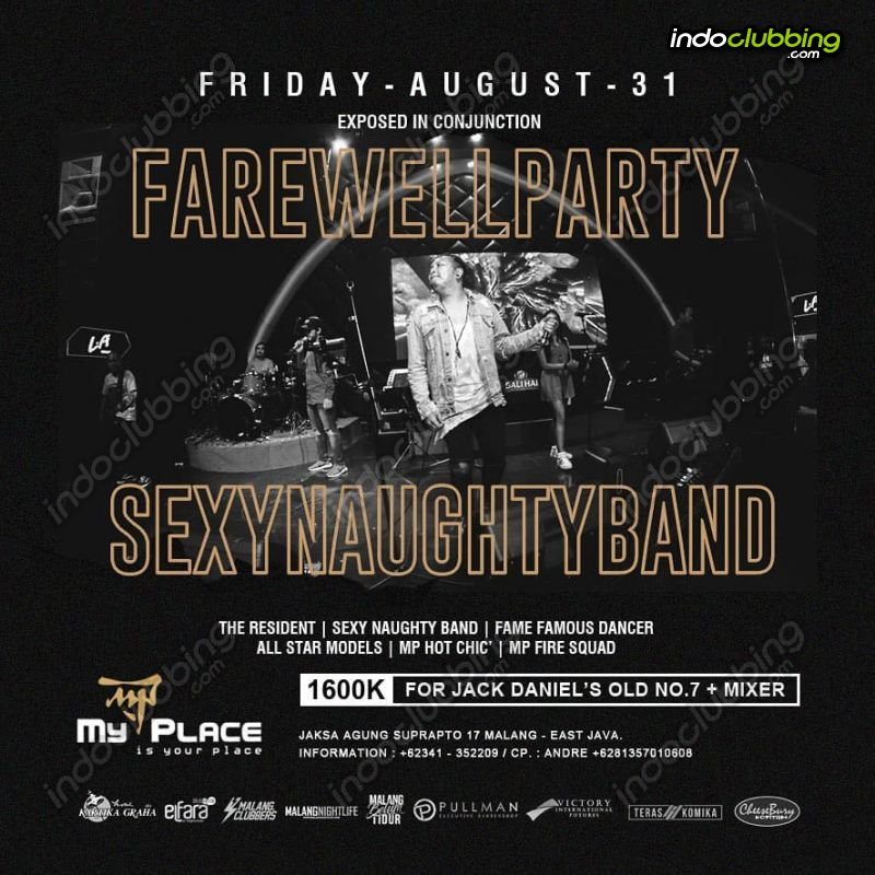 Event Farewell Party My Place Malang Fri 31 Aug 2018 Indoclubbing Com
