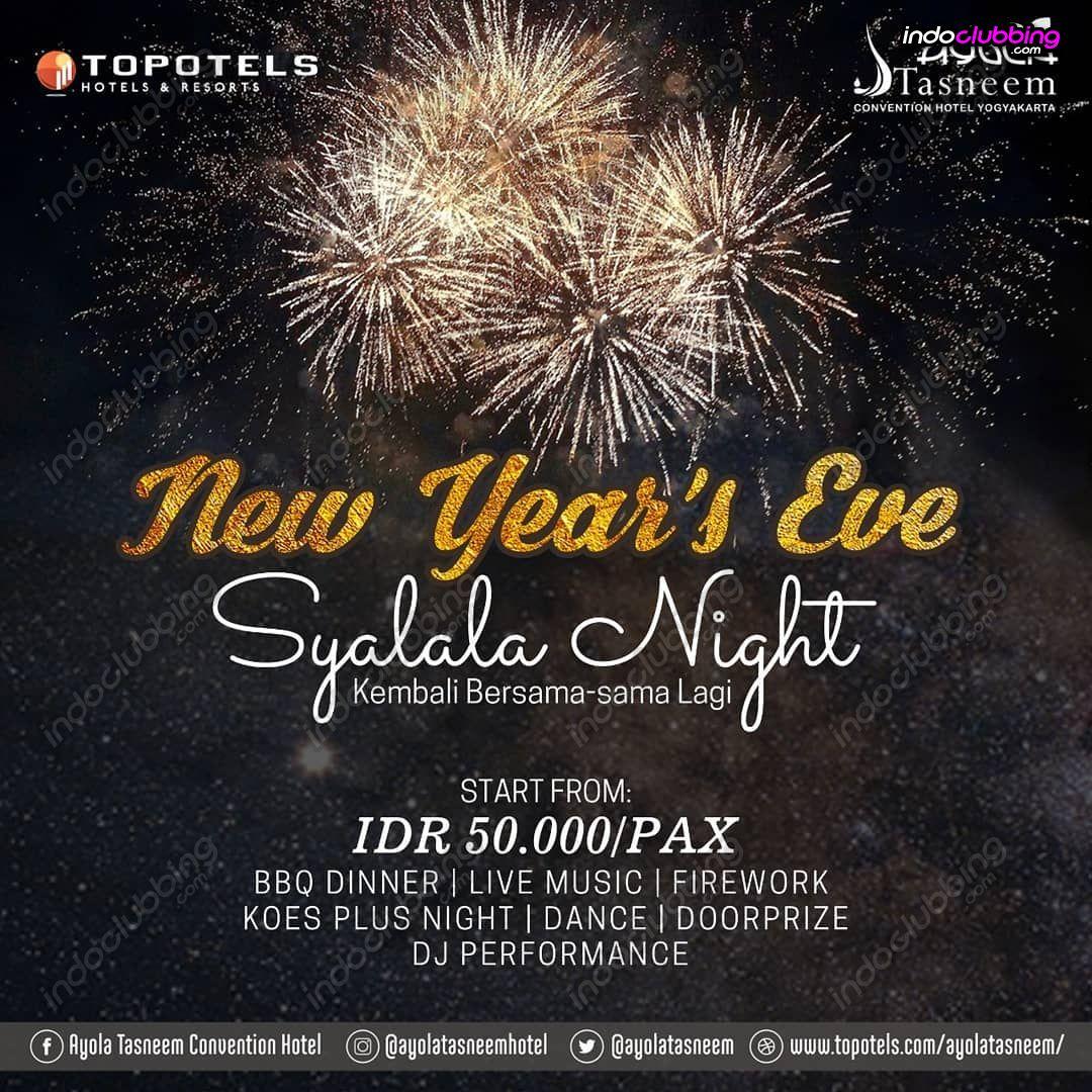 Event New Year S Eve Etnik Kafe Jogjakarta Sun 31 Dec 2017 Indoclubbing Com