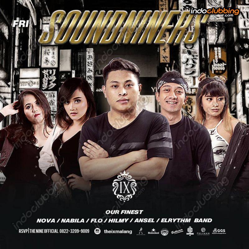Event Soundniners The Ix The Nine Malang Fri 22 Nov 2019 Indoclubbing Com