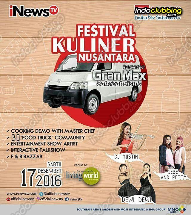 Event Festifal Kuliner Nusantara Living World Tangerang