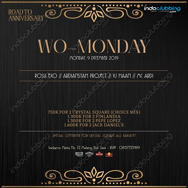 Event Wo Monday Triangle Cafe Malang Mon 9 Dec 2019 Indoclubbing Com