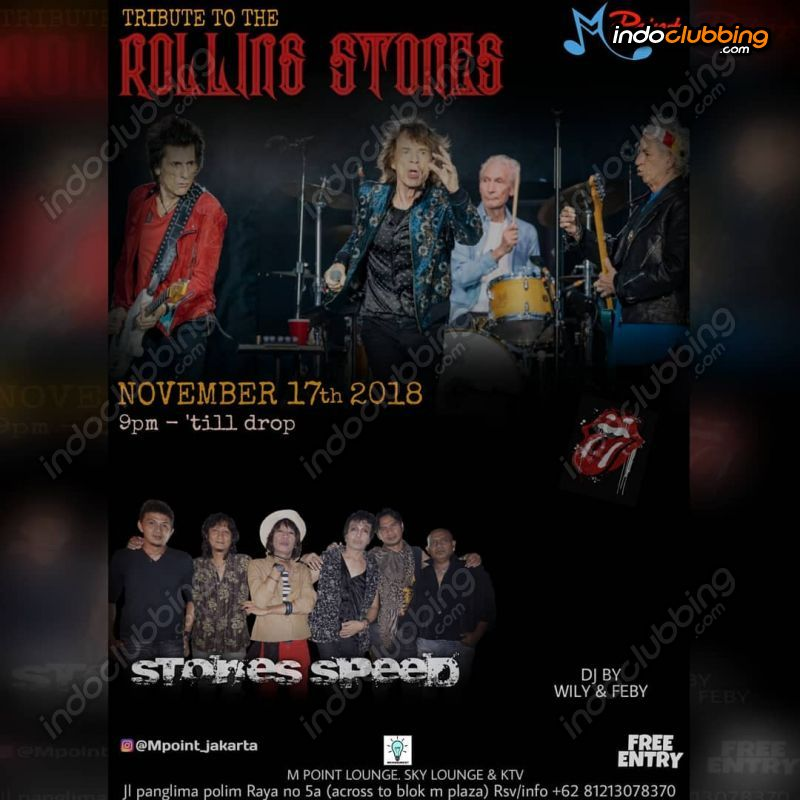 Event : Tribute to the Rolling Stones @ M Point (Jakarta