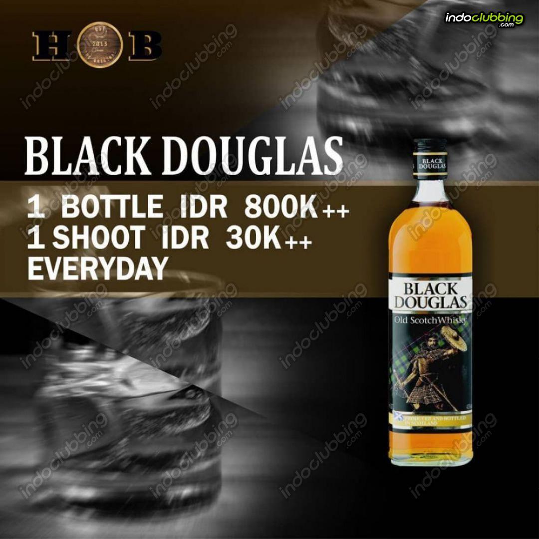 Promo : Black Douglas @ HOB - Heart of Borneo - House of Beer ...