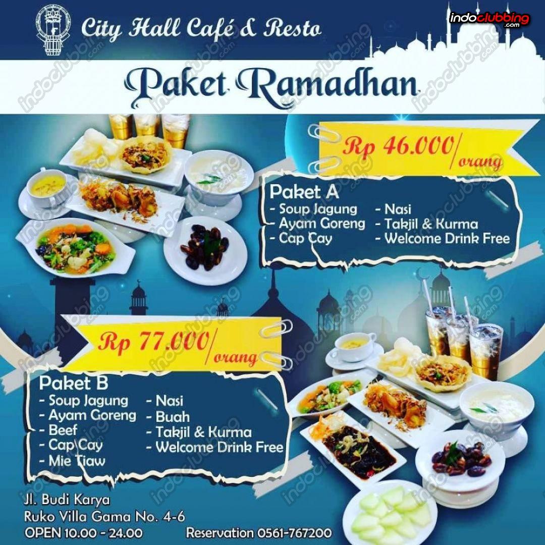 Promo : Paket Ramadhan @ City Hall (Pontianak) Everyday ...