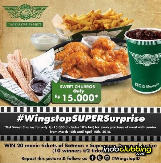 Promo Stop Super Suprise Wingstop Jakarta Everyday