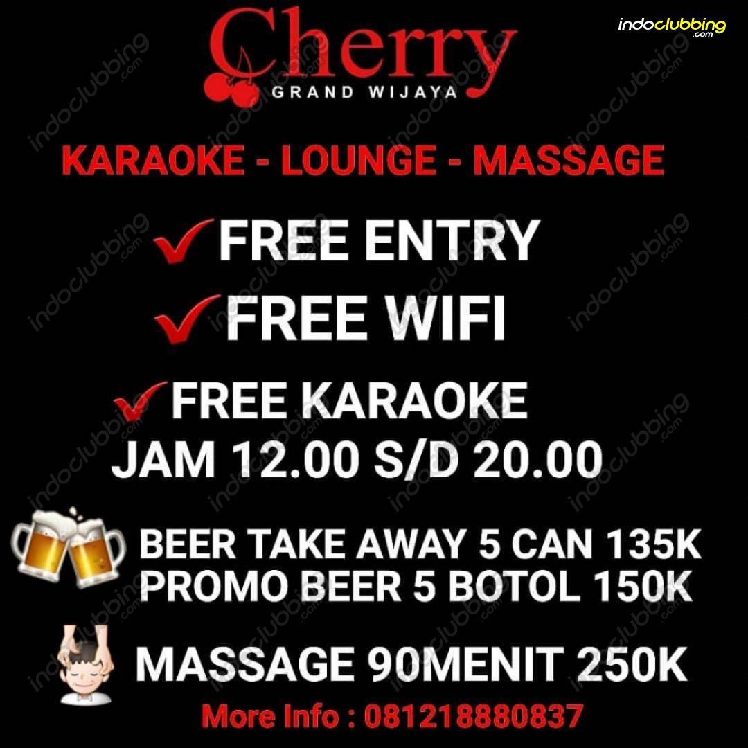 Promo : Karaoke - Lounge - Massage @ Cherry Spa & Bar