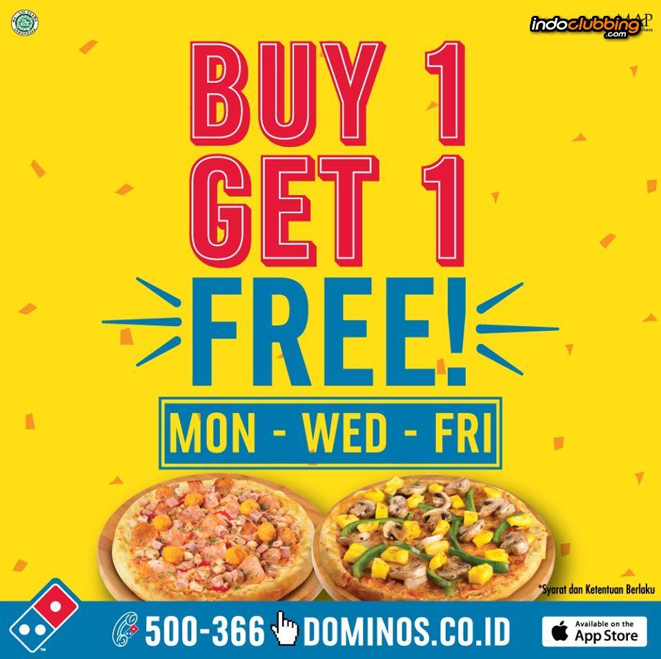 Promo Buy 1 Get 1 Free Domino S Pizza Bali Benoa Every