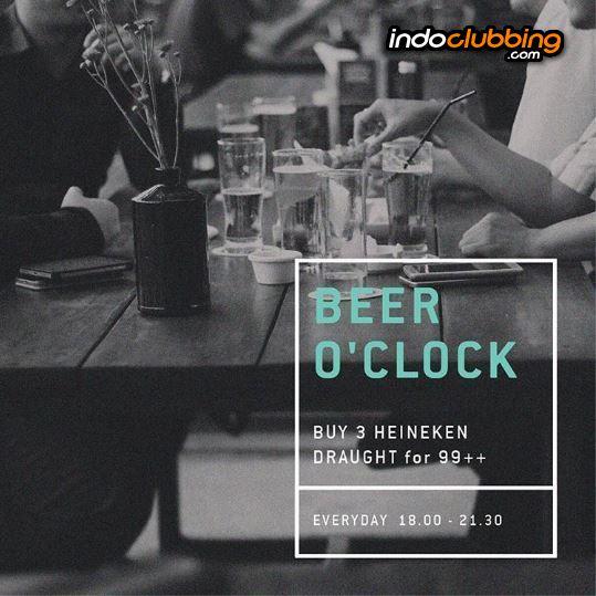 Promo Beer O Clock Beer Garden Jakarta Selatan Kemang Everyday Indoclubbing Com