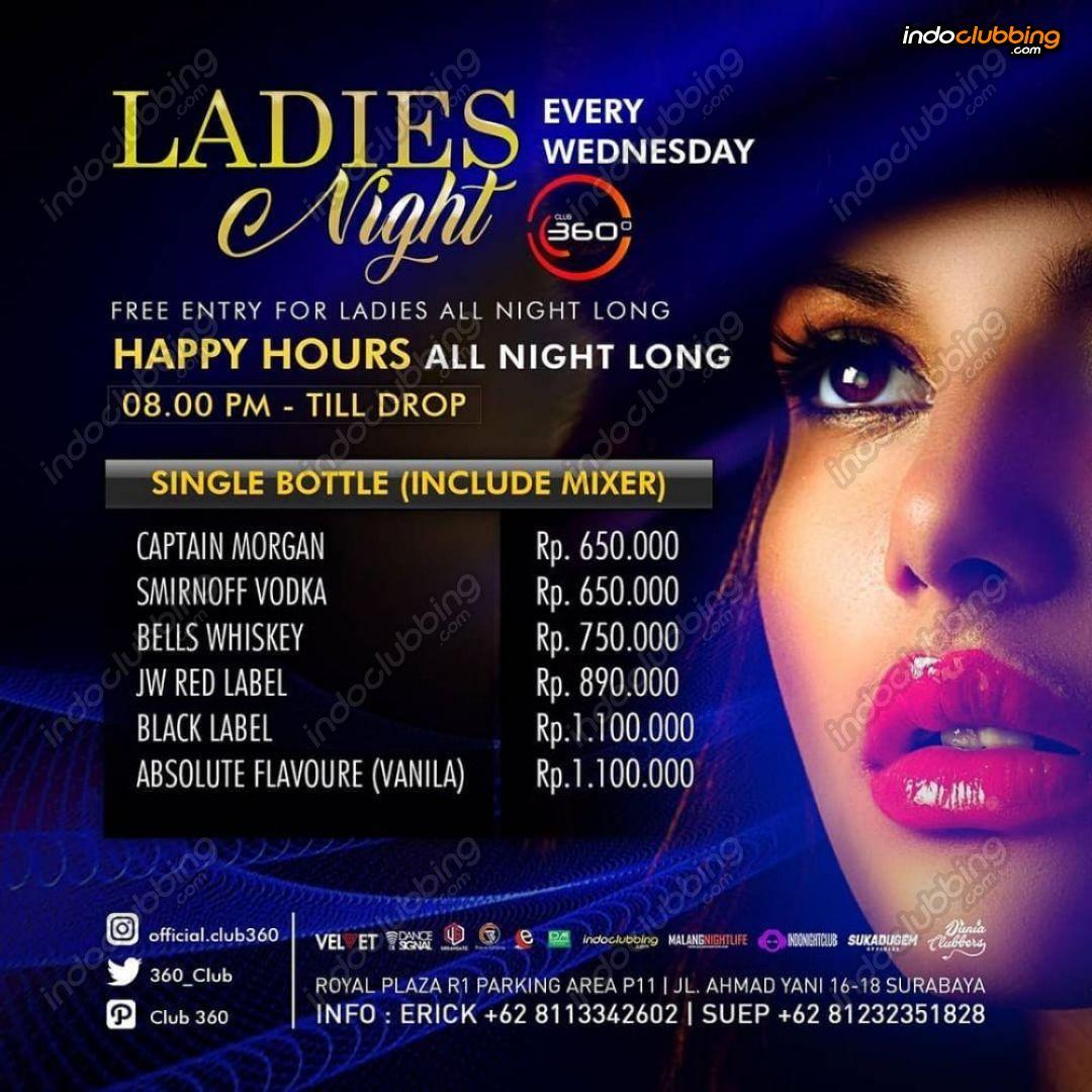 Ladies night di club jakarta