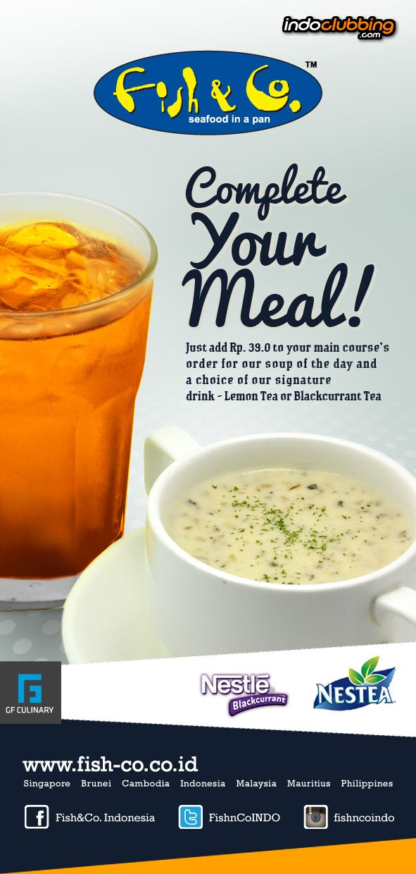 Promo complete your meal fish co jakarta barat for That fish place coupon
