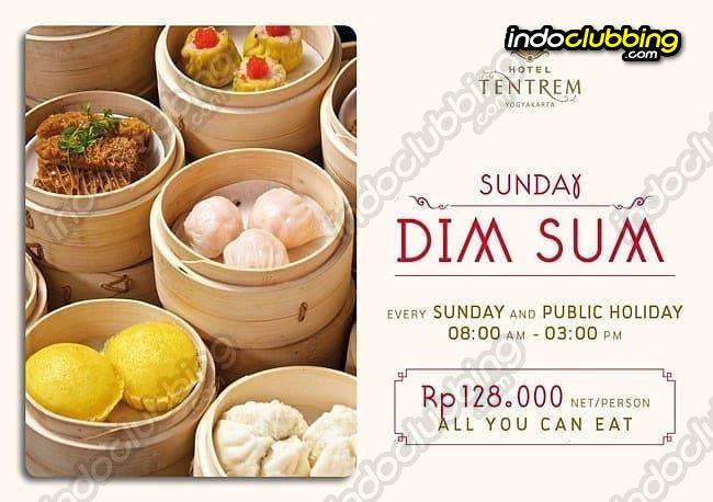 Promo Sunday Dimsum Hotel Tentrem Jogjakarta Every Sunday