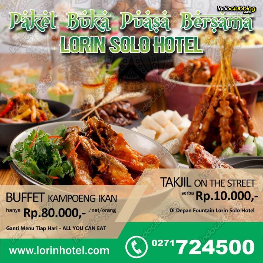 Promo : Paket Buka Puasa Bersama @ Lorin Hotel (Solo) Everyday ...