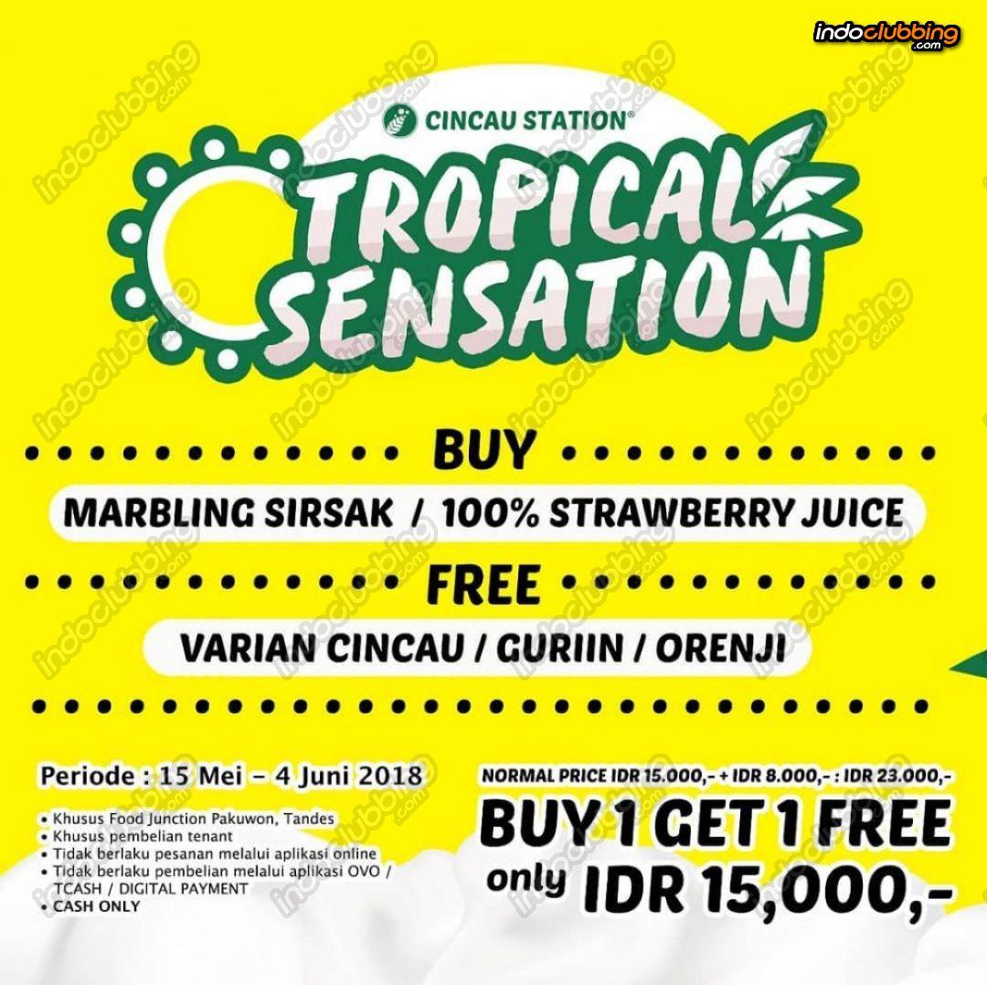 Promo : Tropical Sensation @ Food Junction (Surabaya