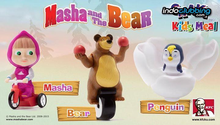 08bbecdd687fe Promo : Masha and The Bear @ KFC (Jakarta › Pusat › Senayan ...
